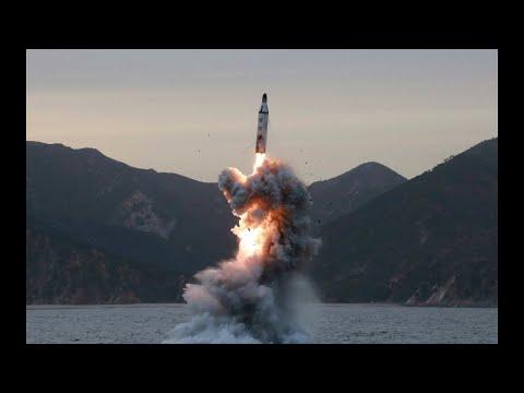 Satellite images 'suggest North Korea aggressive work on ballistic missile submarine'