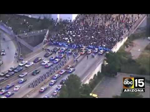 LIVE: Black Lives Matter protest gets heated in Atlanta, GA