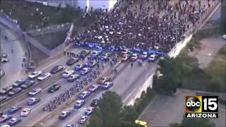 LIVE: Black Lives Matter protest gets heated in Atlanta, GA