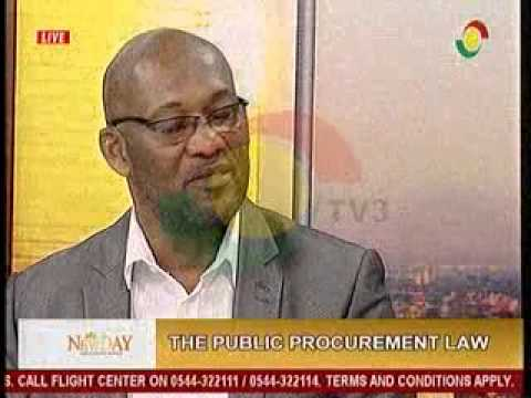 NewDay - Discussing the public procurement law - 17/8/2015