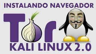 Instalando Navegador Tor no Kali Linux 2.0 Fácil