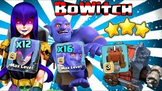 27 Max Miner 13 Max Bowler 42 Max Hogs Destroy 3 Star War Attack TH12 Max Level Clash Of Clans