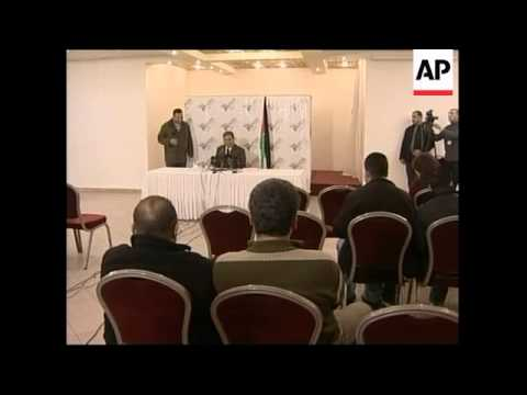 Palestinian legislator hints Abbas to call early elex, Hamas reax