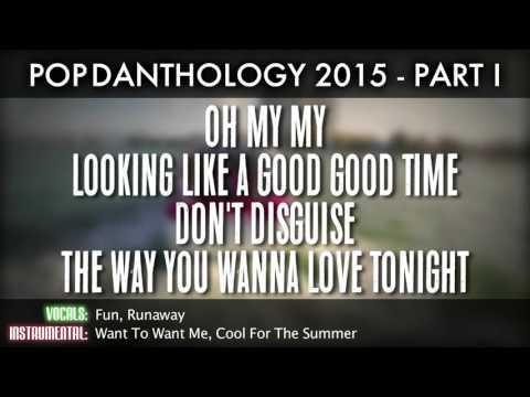 Pop Danthology 2015 - Part 1 (Lyrics And Song Titles)