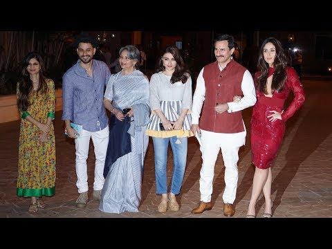 Kareena, Saif Ali Khan, Sharmila Tagore At Soha's The Perils Of Being Moderately Famous Book Launch thumbnail