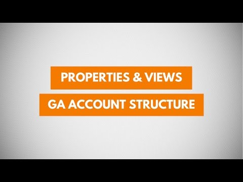 Google Analytics Account Structure - Properties and Views  (Tutorial 2)