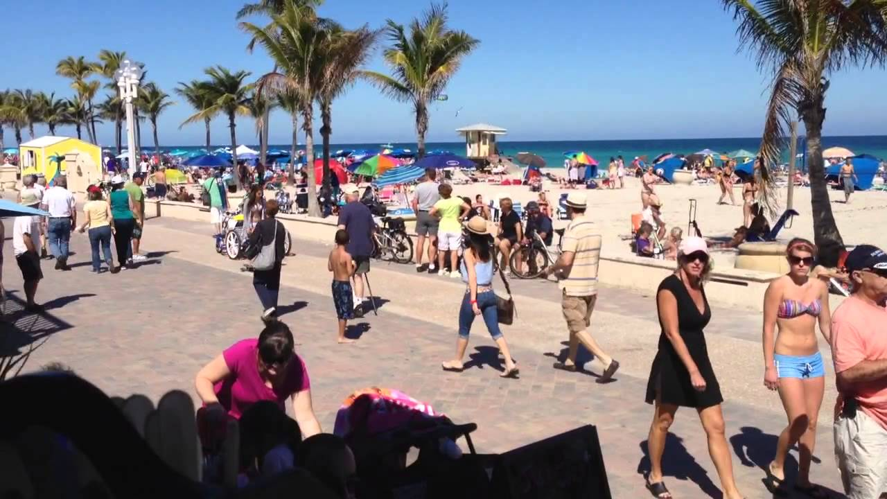 Image result for hollywood beach florida people pictures