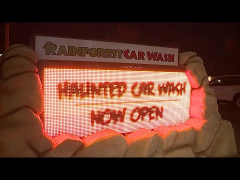 The KiddChris Show - WOULD YOU GO THROUGH THIS HAUNTED CAR WASH!!!