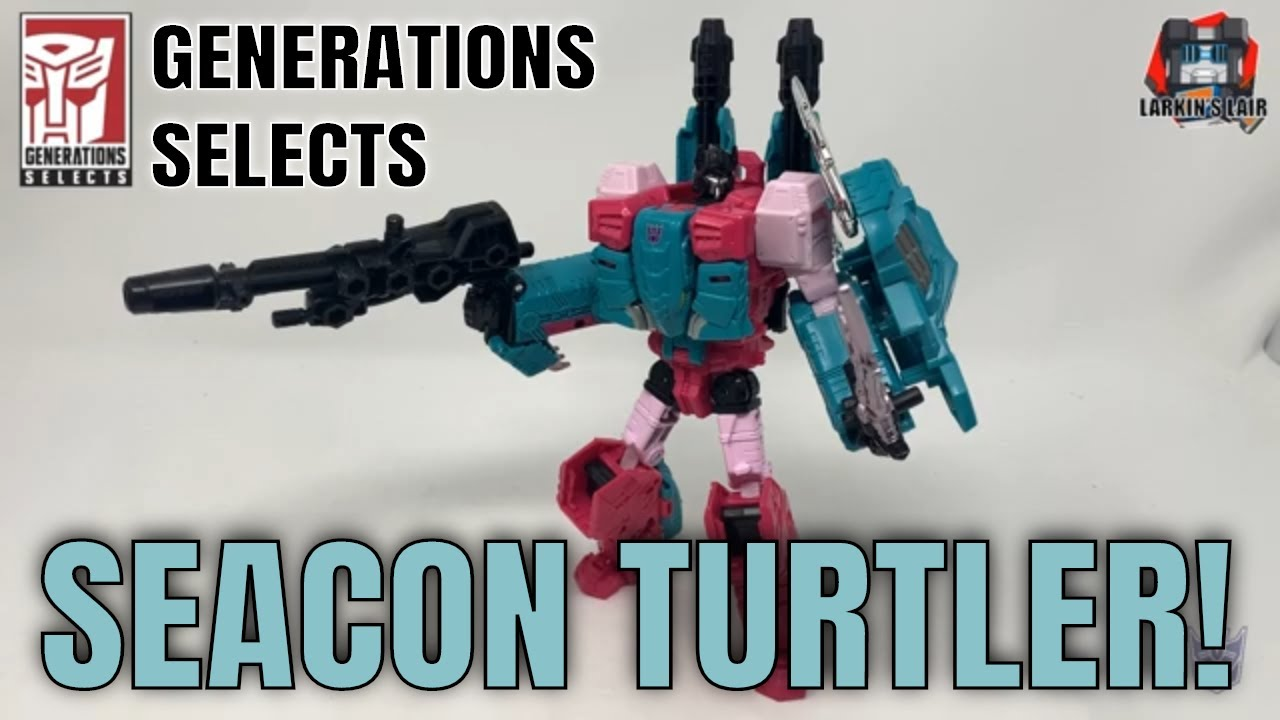 Transformers Generations Selects Turtler Review by Larkin's Lair