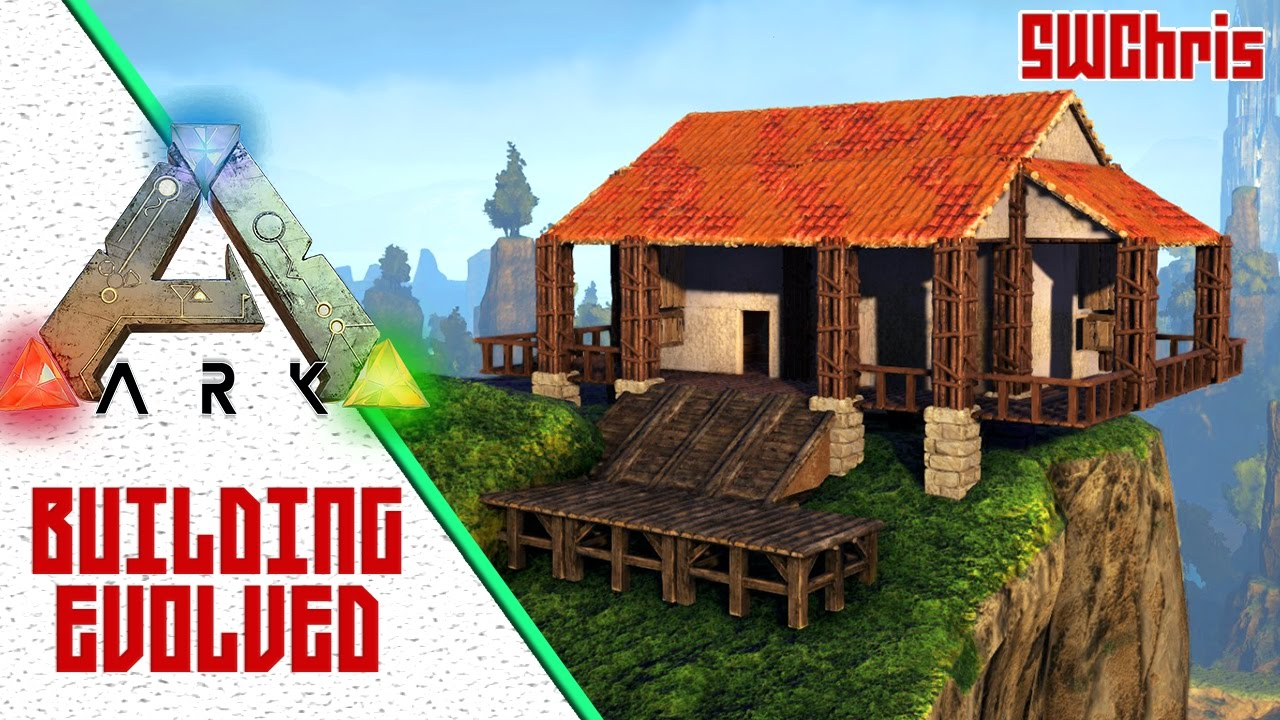 Building a cliff house on ark building evolved ark for Where to start when building a house