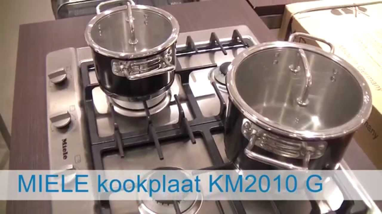 Video Miele Kookplaat Km2010 G De Schouw Witgoed Youtube
