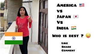 USA 🇺🇸 Vs Japan 🇯🇵 Vs India 🇮🇳 ~ Cut off Power Supply    Dushyant Kukreja #shorts #ytshorts