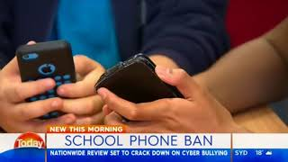 NSW smartphone review at schools