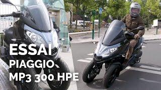 Essai Piaggio MP3 300 HPE