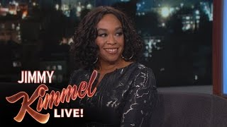 shonda rhimes was scared of jimmy kimmel live