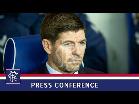 PRESS CONFERENCE | Steven Gerrard | Rangers 0-0 Spartak Moscow