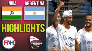 India v Argentina | 2018 Men's Hockey Champions Trophy | HIGHLIGHTS