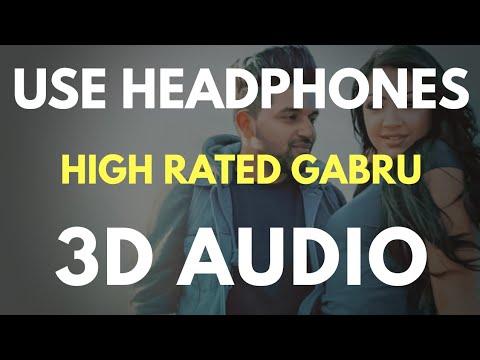 High Rated Gabru (3D AUDIO) | Virtual 3D Audio