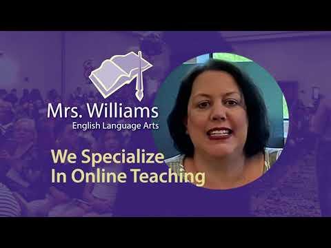 Mrs. Williams - English Language Arts // Hope High School Online