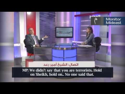 Lebanese MP Walks Off Studio After Clash with Saudi-Backed Cleric over ISIS (English Subtitles)