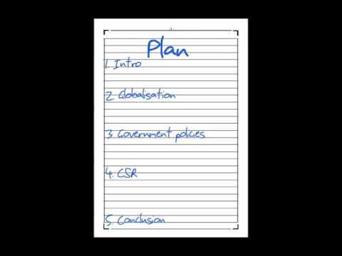 How to write a Business Essay