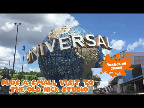 Universal Studios Orlando and Islands of Adventure Trip! Small Visit to the Old Nickelodeon Studios!