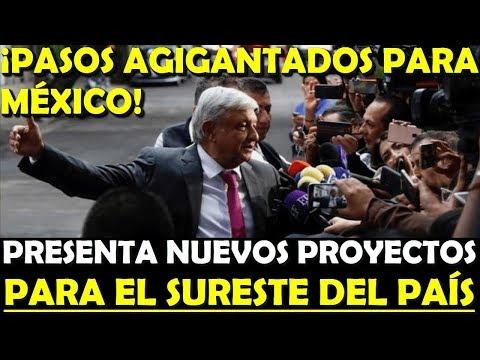 �AMLO ESTRENA NUEVO VIDEO! PRESENTA NUEVOS PROYECTOS PARA MEXICO - ESTADISTICA POLITICA