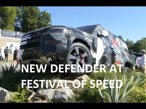 2020 Land Rover Defender test vehicle walkaround at Festival of Speed