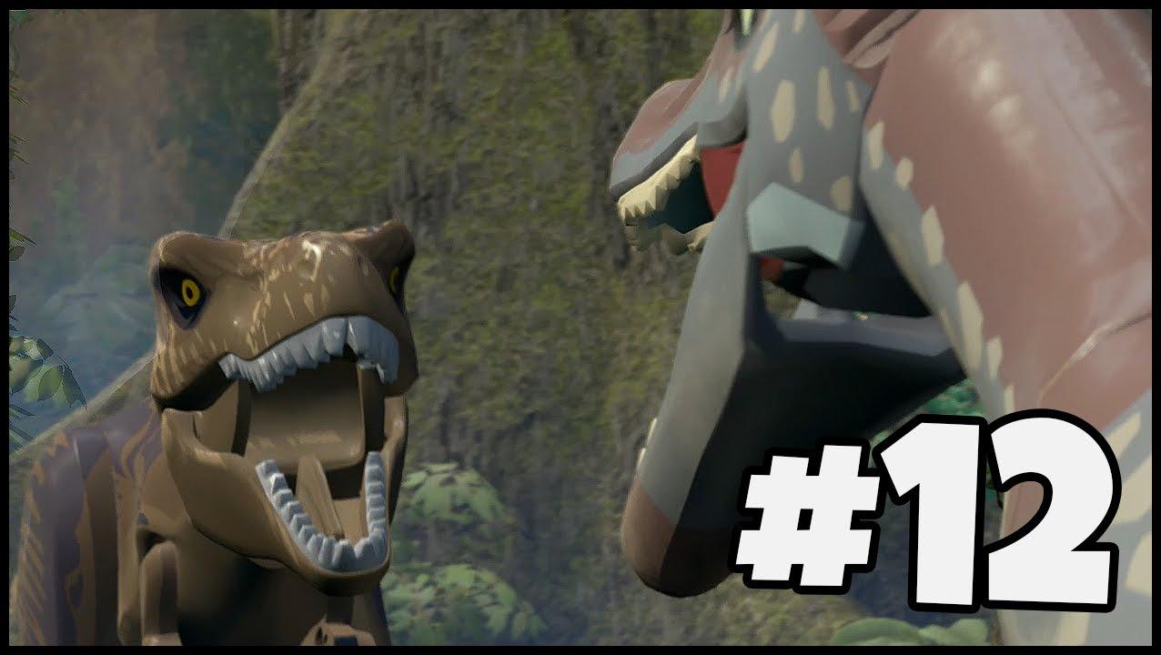 Spinosaurus vs t rex lego jurassic world part 12 youtube - Lego dinosaurs spinosaurus ...