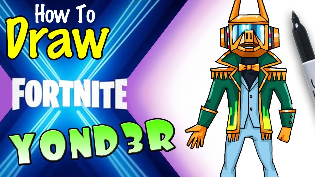How To Draw Yond3r Fortnite X