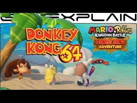 Donkey Kong 64 Music in DK Adventure DLC (Mario + Rabbids Kingdom Battle)