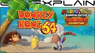 Donkey Kong 64 Music in DK Adventure DLC (Mario + Rabbids Kingdom Battle)