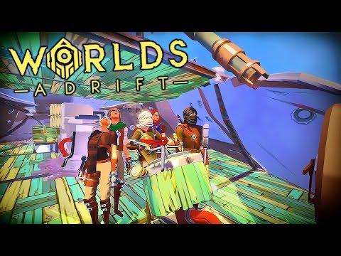SKY PIRATE ARMADA!!! 🐍👊💥 | Worlds Adrift - Closed Alpha (PC)