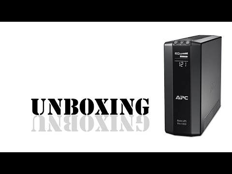 Unboxing - APC BR900G-GR Line Interactive
