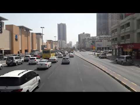 Sharjah Bus Trip | Timelapse
