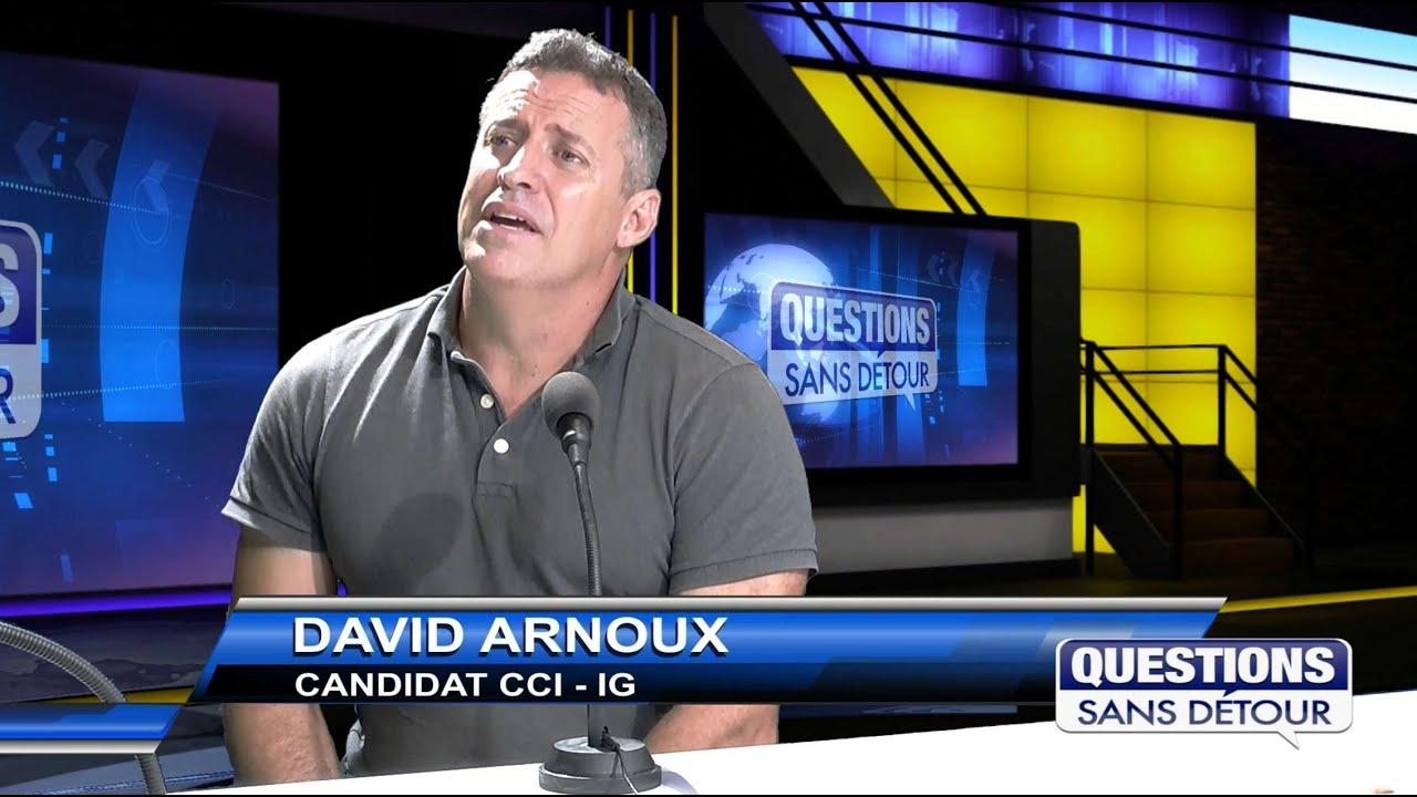 David ARNOUX candidat à la CCI IG est l'invité sur ETV dans QSD