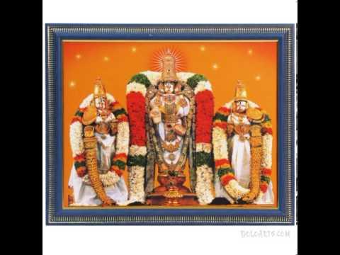 Rare recording at TTD of Sri Srinivasa Gadyam