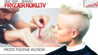 Damskie cięcie w stylu irokez. Fashion hairstyle FryzjerRoku.tv
