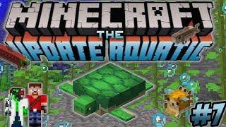 Minecraft Update Aquatic Turtle Farm Underwater Base - Ren & Doc Build Stuff #7