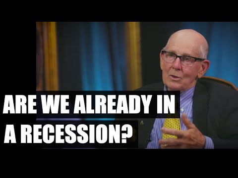 🔴 Why We are Already in a Recession (w/ Gary Shilling) | Real Vision Classics