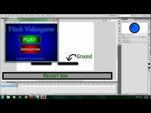 How To Make A Platform Game in Flash (Extended)
