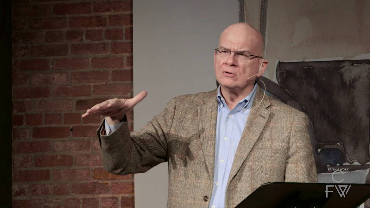 Tim Keller: Our Cultural Tension