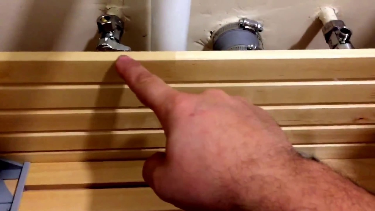 Do Not Cut The Ikea Bathroom Sink Cabinet Drawers Use Proper Pipeline Adapter Youtube