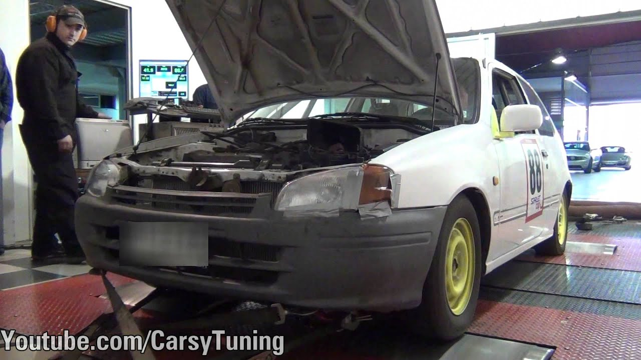 Toyota Starlet EP91 - Starlet Cup Dyno Run 80 WHP