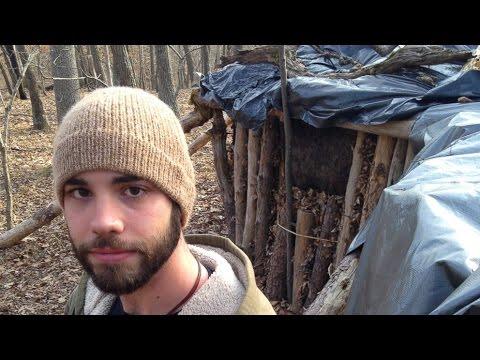 Студент сменил общежитие на хижину в лесу (новости)