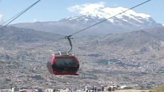 """La Paz celebra su título de """"ciudad maravilla"""""""