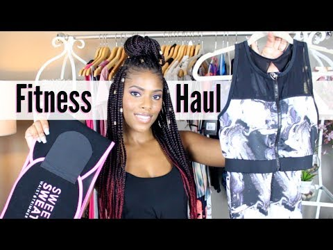 💖 Glam Life 💖 Fitness Haul | Workout Clothes | Gym Gear | Detox Tea