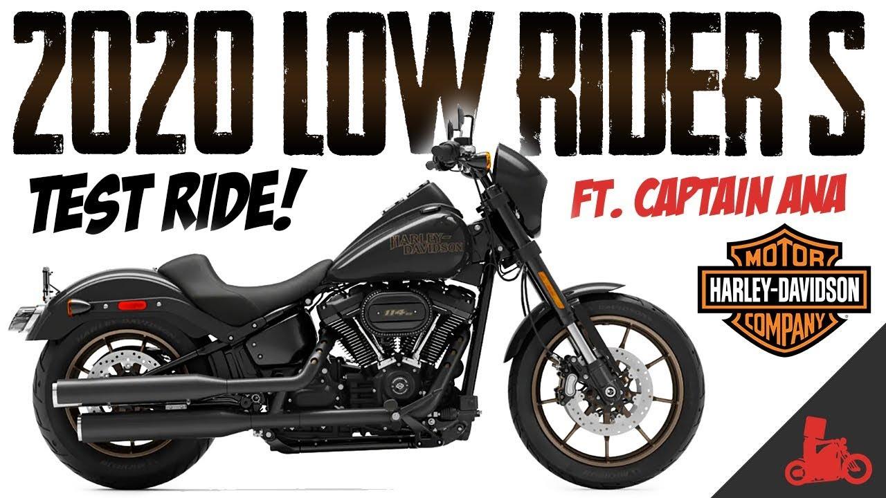 2020 Harley-Davidson LOW RIDER S Test Ride!