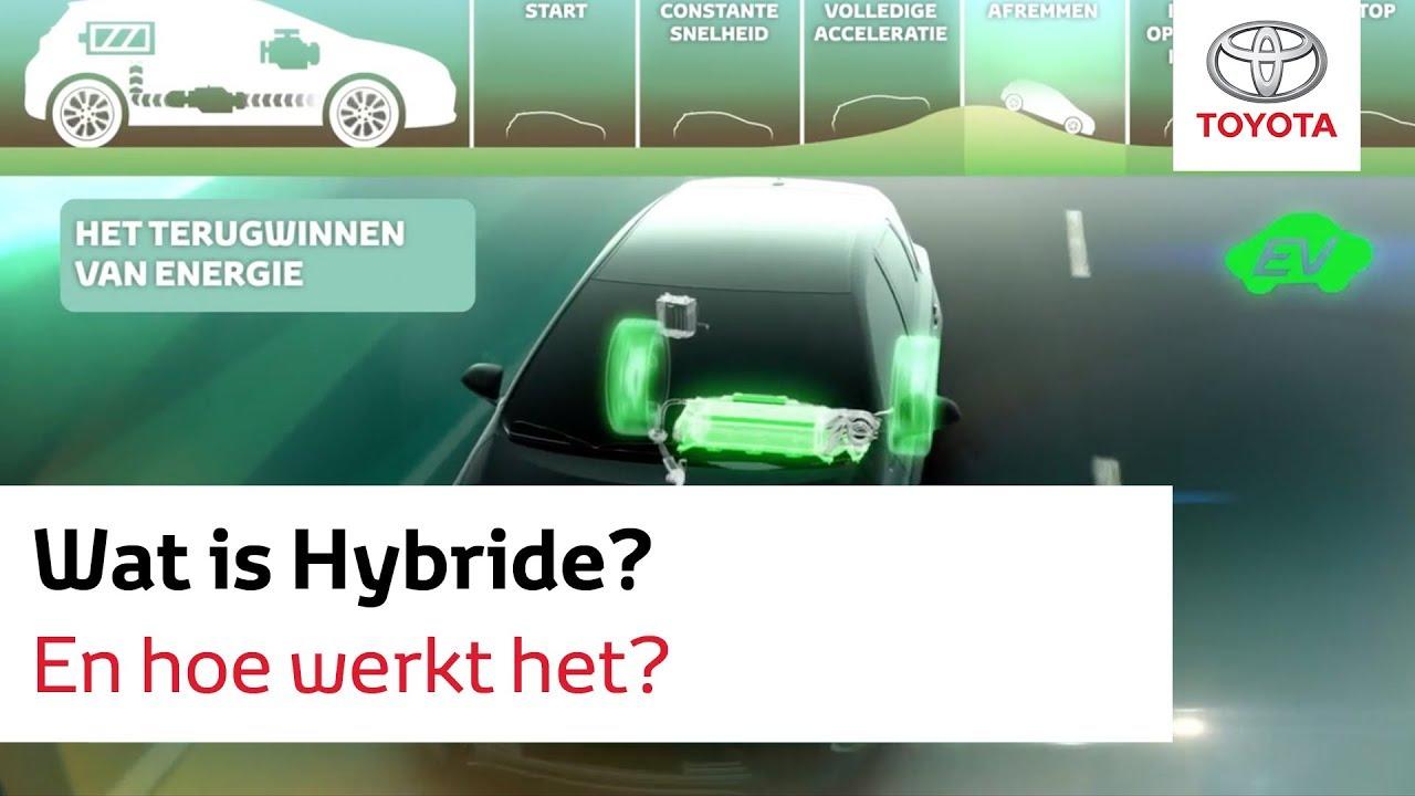 Toyota Hybride Wat Is Het En Hoe Werkt Het Youtube