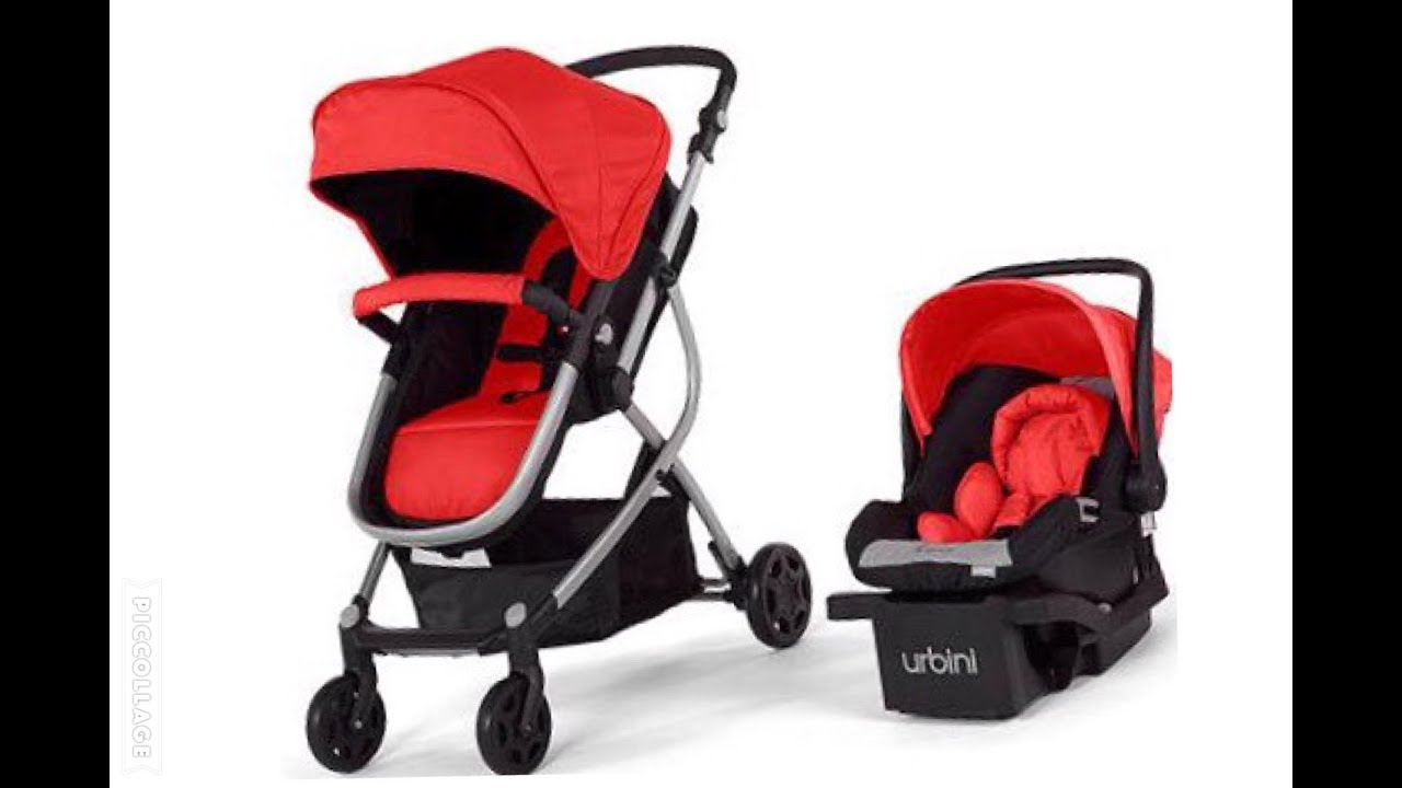 URBINI Omni 3-in-1 Travel System Follow-up Review + DEMO ...
